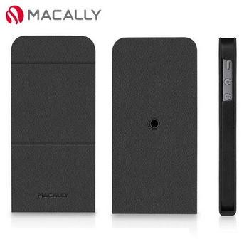【Macally】iPhone 5/5S可旋轉支架式皮套-黑(SSTAND5B)