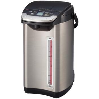 【TIGER虎牌】5.0L蒸氣不外漏VE真空電動電熱水瓶PIE-A50R