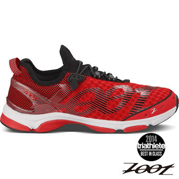 【ZOOT】TEMPO 6.0 頂級極致型肌能跑鞋 運動鞋(男)(時尚紅-白) Z150100301
