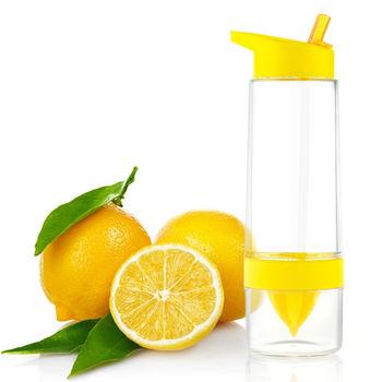 PUSH!廚房用品 650ml大容量無毒無味檸檬杯防漏隨手杯