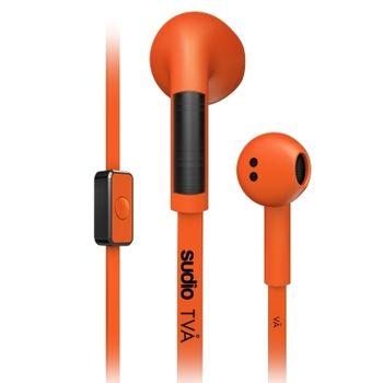 瑞典 Sudio Tva 系列耳道式耳機 (橘)