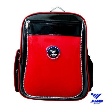【JUMP】MIT元氣護脊書背包(紅)