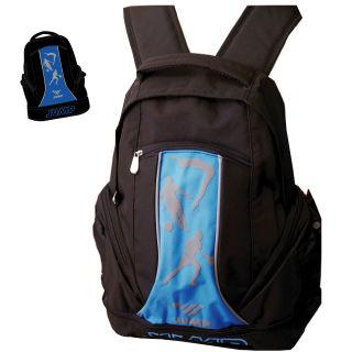 【JUMP】MIT多功能休閒後背包(黑藍)