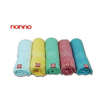 【儂儂non-no】最乾淨的毛巾 (加厚款) / 2條入*藍+白