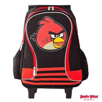 【Angry Birds 憤怒鳥】造型三段式拉桿書背包(A款)