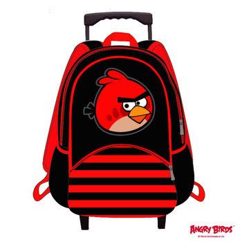 【Angry Birds 憤怒鳥】造型16吋拉桿書背包(A款)