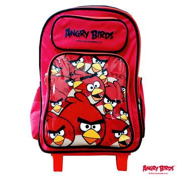 【Angry Birds憤怒鳥】三段式拉桿書背包(B款)