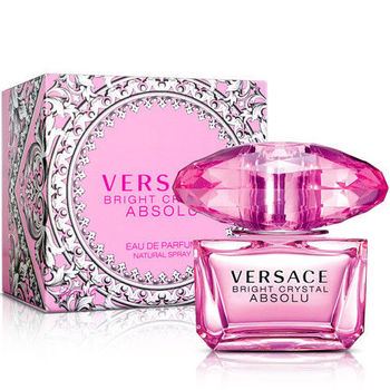 Versace凡賽斯 絕對‧香戀水晶女性淡香精(50ml)-送小香+身體乳&針管