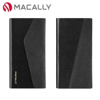 【Macally】iPhone 5C側翻式可旋轉立架保護皮套-黑(WALLETP6B)