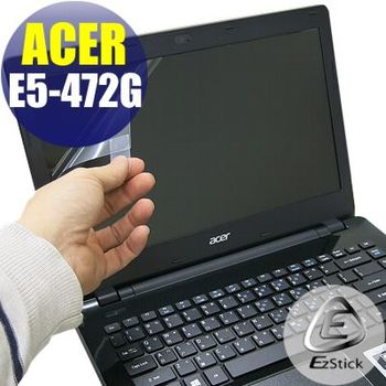 【EZstick】ACER Aspire E14 E5-472 專用 靜電式筆電LCD液晶螢幕貼 (霧面螢幕貼)