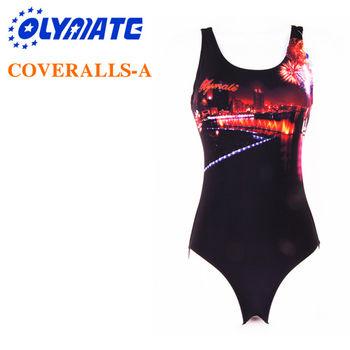 福利品出清OLYMATE 專業連身泳裝-A