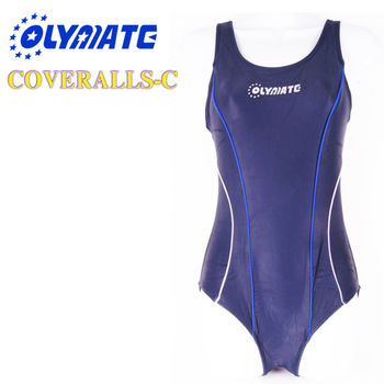 福利品出清OLYMATE 專業連身泳裝-C