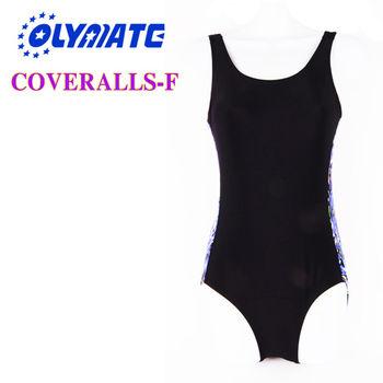 福利品出清OLYMATE專業連身泳衣-F