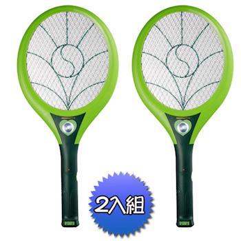 《2入超值組》【日象】特展神威充電式捕蚊拍ZOM-3900
