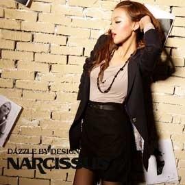 [NARCISSUS]TENCEL天絲棉 寬鬆感長版西裝外套 深藍-S-M