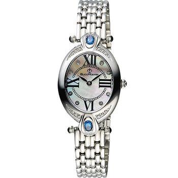 BijouMontre 寶爵 Elysee愛戀之心限量鑽錶-藍拓帕x銀/26mm A12110