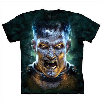 【摩達客】(預購)美國進口The Mountain 科學怪人 純棉環保短袖T恤