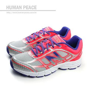New Balance 860系列 皮革 網布 舒適 抗震 跑鞋 戶外休閒鞋 灰 童 no622