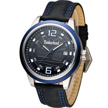 Timberland Seattle 漫步西雅圖時尚錶 TBL.14335XSTBL/02 黑x藍色
