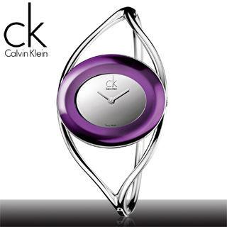 【瑞士 CK手錶 Calvin Klein】甜蜜好禮_魔幻簍空女錶(K1A24656)