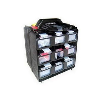 【FU】12件多功能收納提盒工具箱(JL0003)