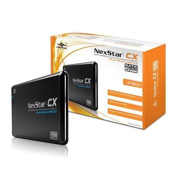 凡達克傳輸精靈CX 2.5吋SATAIII 6Gb/s USB3.0硬碟外接盒(NST-206S3-BK)