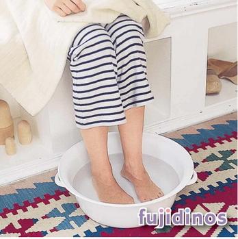 Fujidinos【野田琺瑯】萬用舒適泡腳盆‧清洗盆