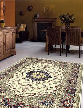 【范登伯格】奧瓦進口柔亮輕薄不佔空間輕鬆好收納進口絲質地毯(深)100x140