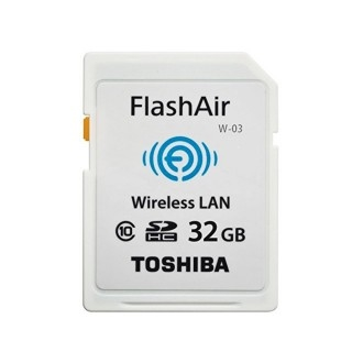 【TOSHIBA】公司貨 WIFI  FlashAir SDHC Class10 32G 32GB  無線傳輸記憶卡(W-03)