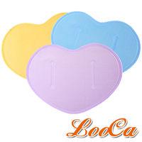 ~冰涼登場~LooCa心型凝膠枕墊二入 ^#40 顏色 ^#41