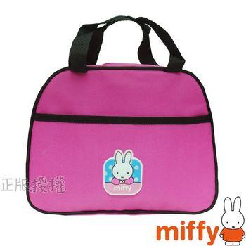 【Miffy米飛兔】經典便當收納袋(桃紅色)