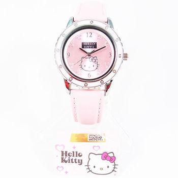 日本Hello Kitty可愛造型手錶 粉紅色