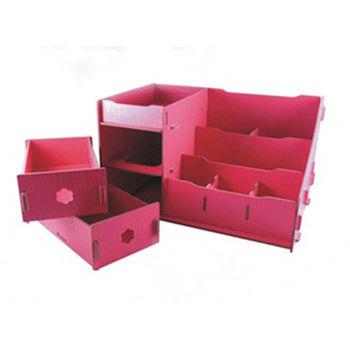 【易麗特】小資女DIY木質收納架