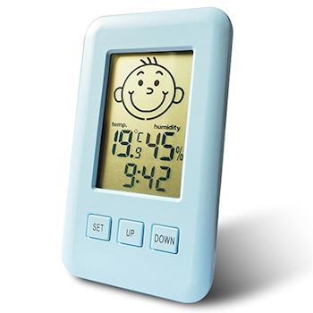 【Dr.AV】三合一智能液晶溫濕度計GM-3Q