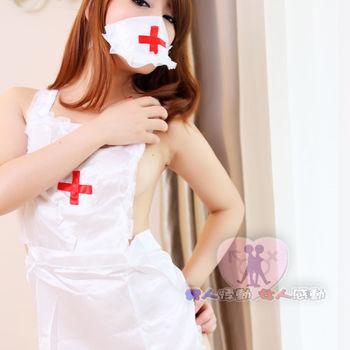 【即性樂活情趣】小護士系列 白色辣妹裝角色扮演性感睡衣