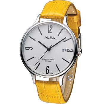 ALBA 馬卡龍簡約時尚腕錶 VJ42-X136J