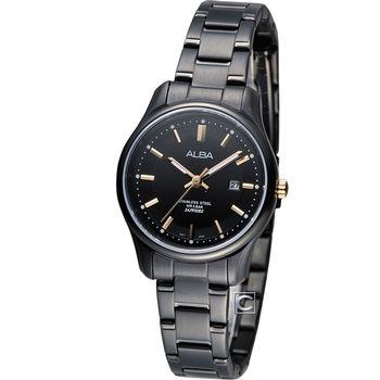 ALBA 雅柏 日系輕盈時尚女用腕錶 VJ22-X191K