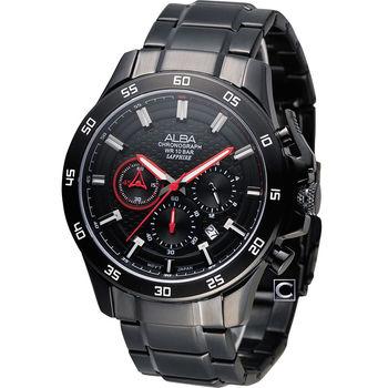 ALBA ACTIVE 潮流型男時尚計時腕錶 VD53-X174R