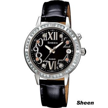 Sheen 璀璨華麗時尚腕錶 SHE-4031L-1A 黑