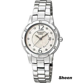 Sheen 精緻小巧淑女錶 SHE-4021D-7A 白