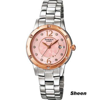 Sheen 自信柔美 時尚腕錶 SHE-4021SG-4A 粉