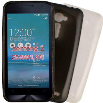 【KooPin力宏】ASUS Zenfone 2 ZE500CL 5吋 專用清水套◆買一送一不挑色◆
