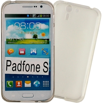 【KooPin力宏】ASUS PadFone S / PF500K 專用清水套◆買一送一不挑色◆