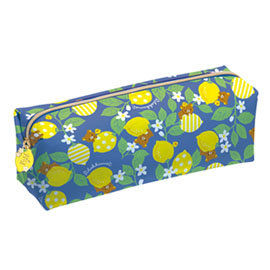 San-X 拉拉熊水果檸檬園系列防水筆袋包