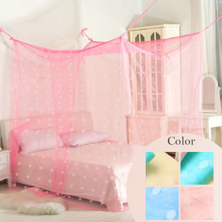 【Casa Aroma】傳統式 雙人針織蚊帳/四角蚊帳(7尺)