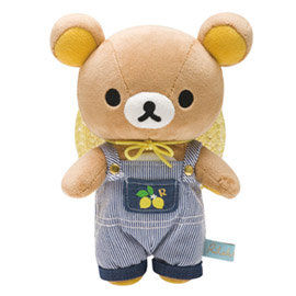 San-X 拉拉熊水果檸檬園系列毛絨公仔 懶熊