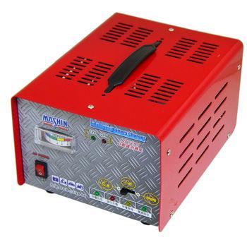 汽機車微電腦全自動充電器(12V/24V)+ 高級胎壓表