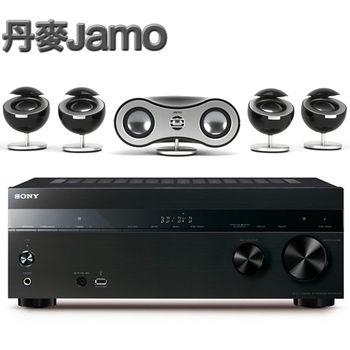 《丹麥JAMO》家庭劇院環繞喇叭系統 360 S35 + SONY環繞擴大機 STR-DH850