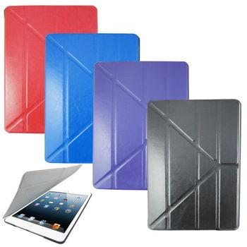 L67瘋馬紋變形金剛 iPad Air(iPad5)平板皮套