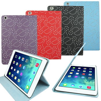 L61宮廷花支架 iPad Air(iPad5)平板皮套